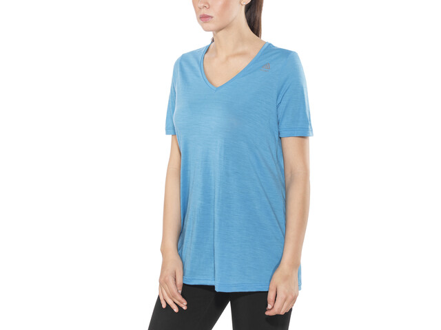 Aclima LightWool Loose Fit Camiseta Mujer, blithe
